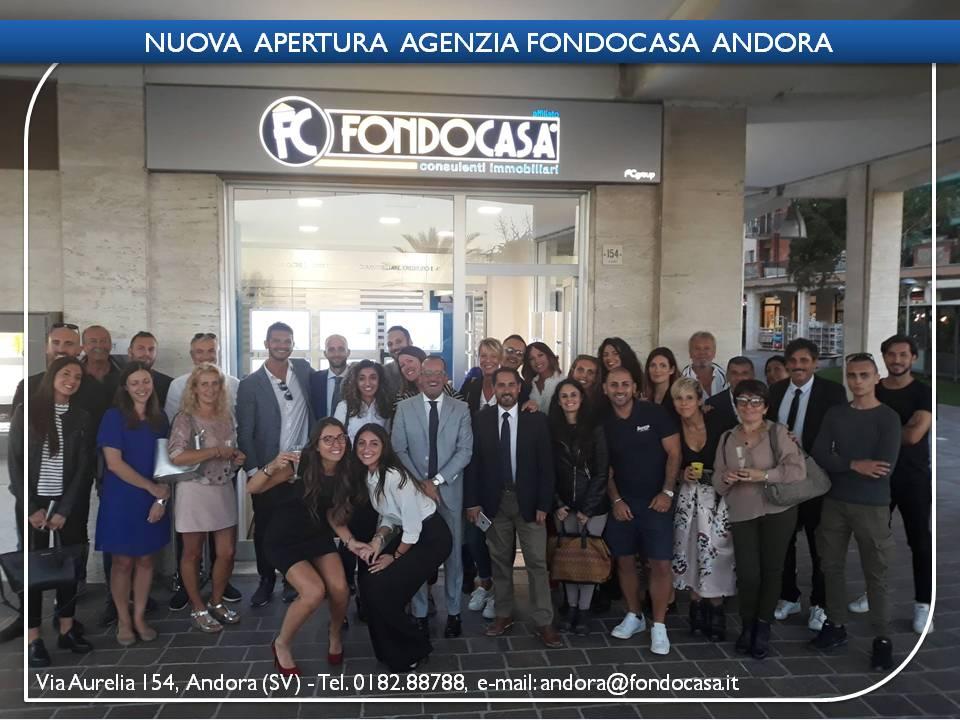 Inaugurazione ufficio Fondocasa Andora